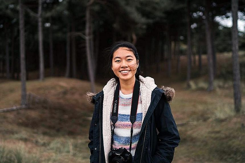 """Ms Teresa Yong, 22, a third-year student at the University of Manchester, returned to Britain in late August. She says she is not too concerned about the pandemic as her """"university is quite prepared to move everything online as well as take strong a"""