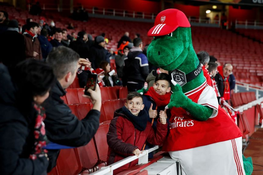Gunnersaurus' departure has not gone down with Arsenal supporters.