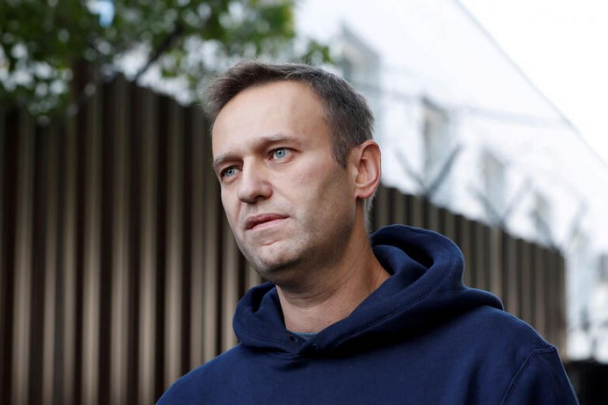 Kremlin critic Alexei Navalny emerged from a coma in early September after collapsing on a domestic flight in Siberia on Aug 20.