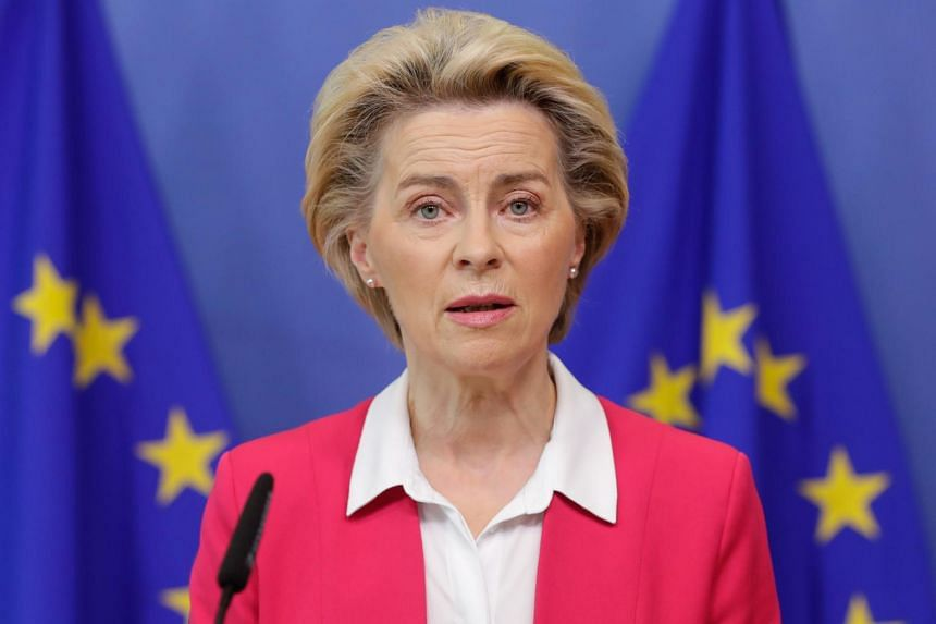 Ursula Von der Leyen in preventive self-isolation