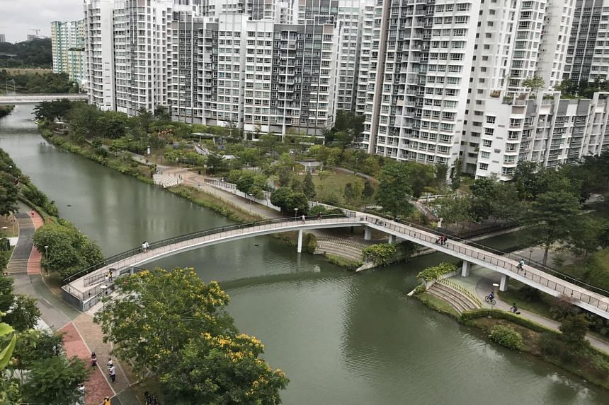 Many elements of Punggol's heritage and history have been incorporated into the town planning, including the 4.2km-long man-made waterway that meanders through the town.