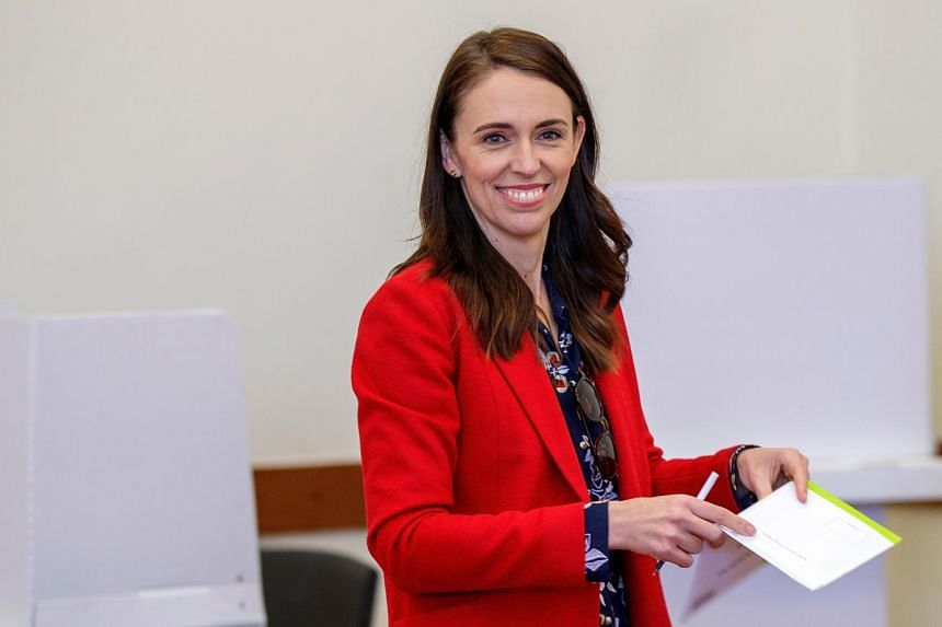 Climate change is a key issue in the New Zealand election, which Ardern's Labour Party was largely expected to win.