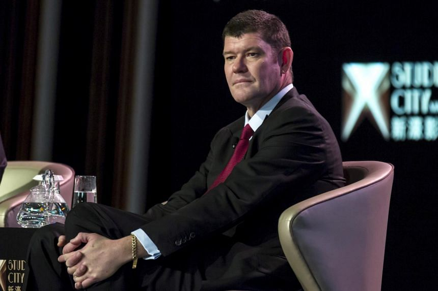 James Packer owned about half of Crown at the time and had resigned as executive chairman towards the end of 2015.