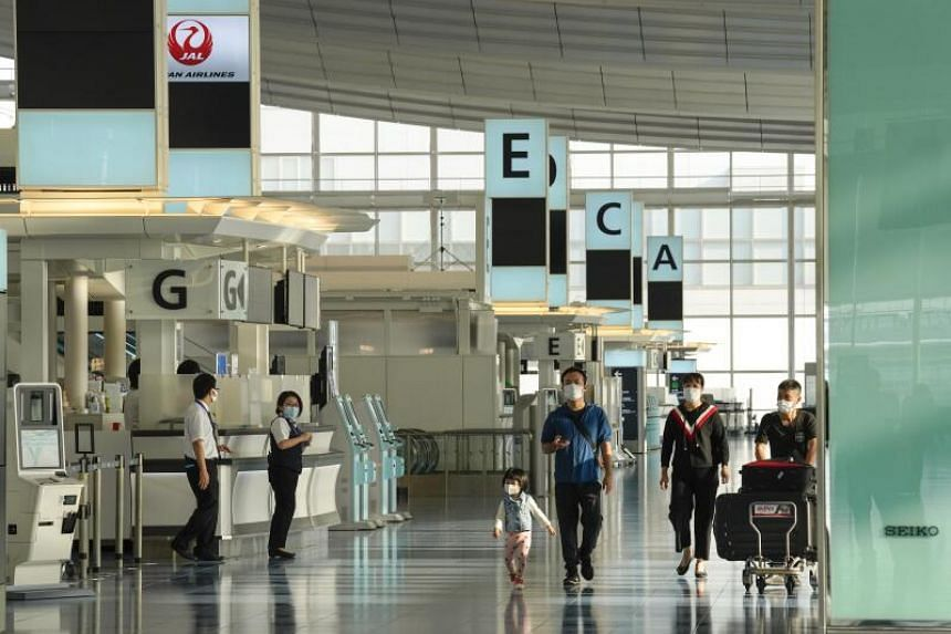 The new rules apply to returning Japanese and holders of long-term visas.