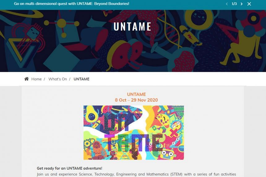 Steam Festival is the first of three digital-first events under Untame, a guest-experience approach to blend onsite and online exhibitions and activities.