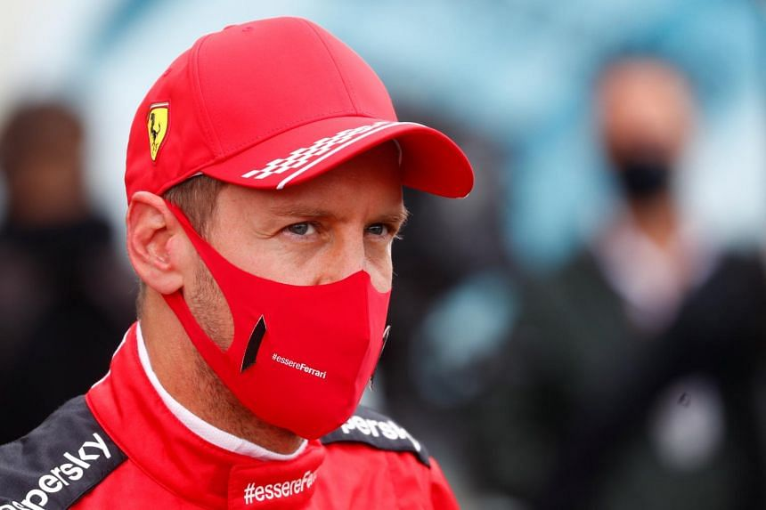 Vettel mysterious: 'Battles on which I should not have concentrated'.