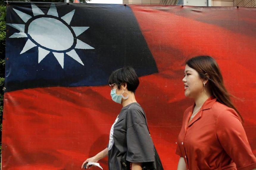 China claims Taiwan and regards it as a wayward province.