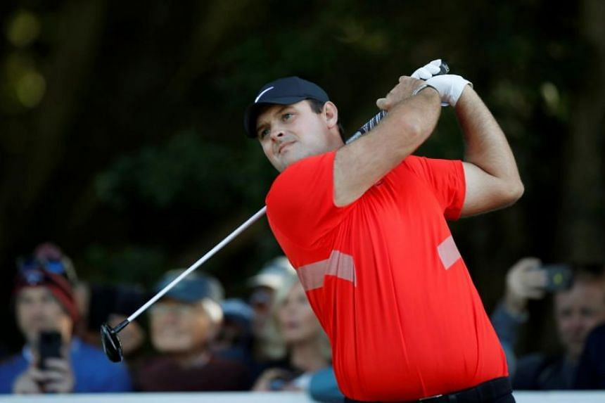 Patrick Reed in action during the second round of the BMW PGA Championship on Sept 20, 2019.