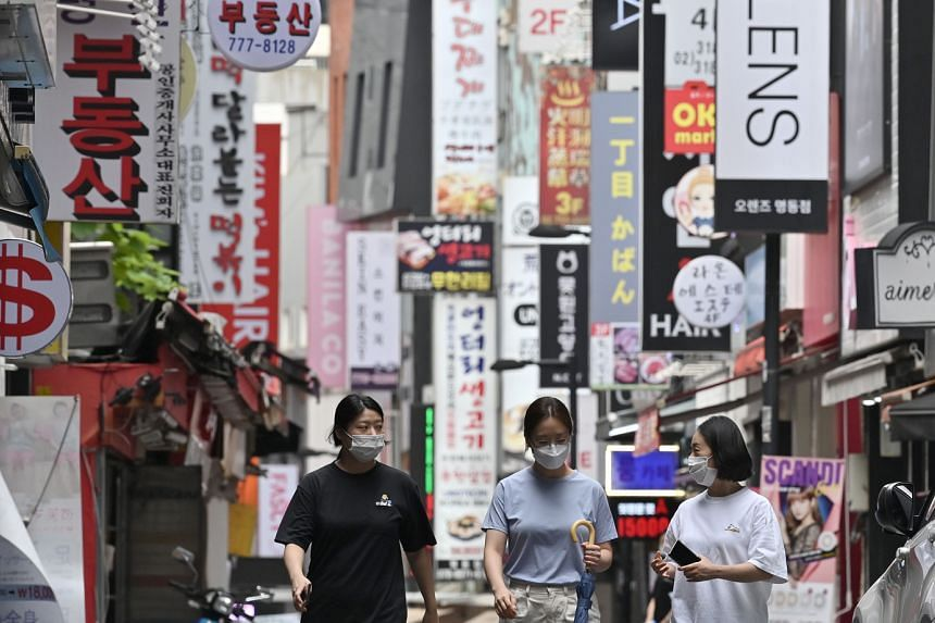 Seoul's Myeongdong shopping district. Travel agents say the interest in South Korea was not surprising, with one adding that the country has many pull factors, from fashion and culture, to food and cosmetics.