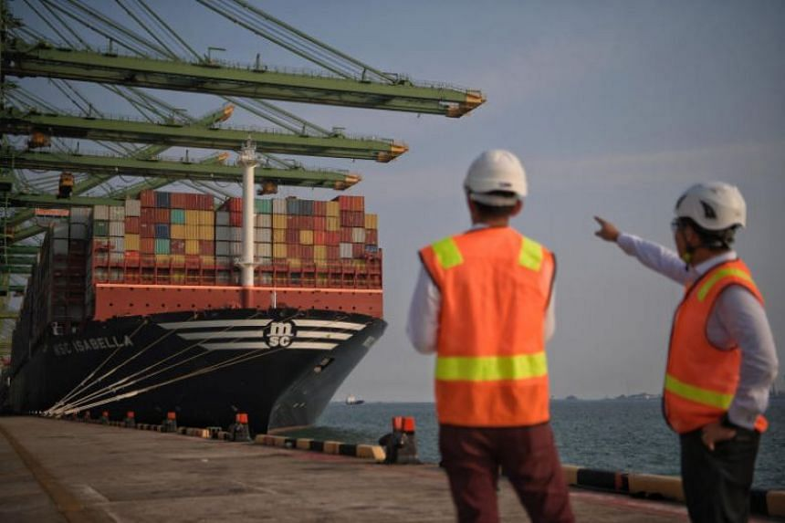 Shipping is a key component as it carries 80 per cent of the world's trade.