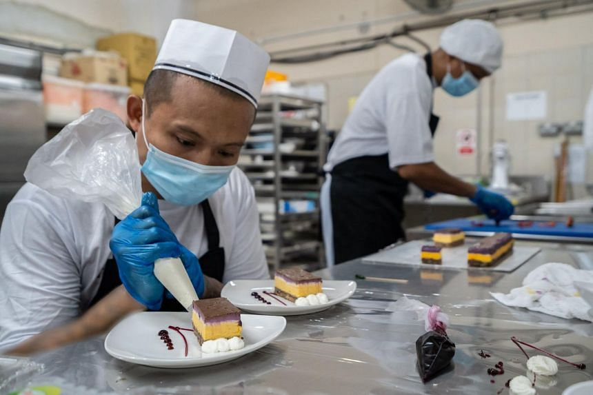 Faruk found a passion for decorating cakes while on his work programme during his incarceration in the Changi Prison Complex.