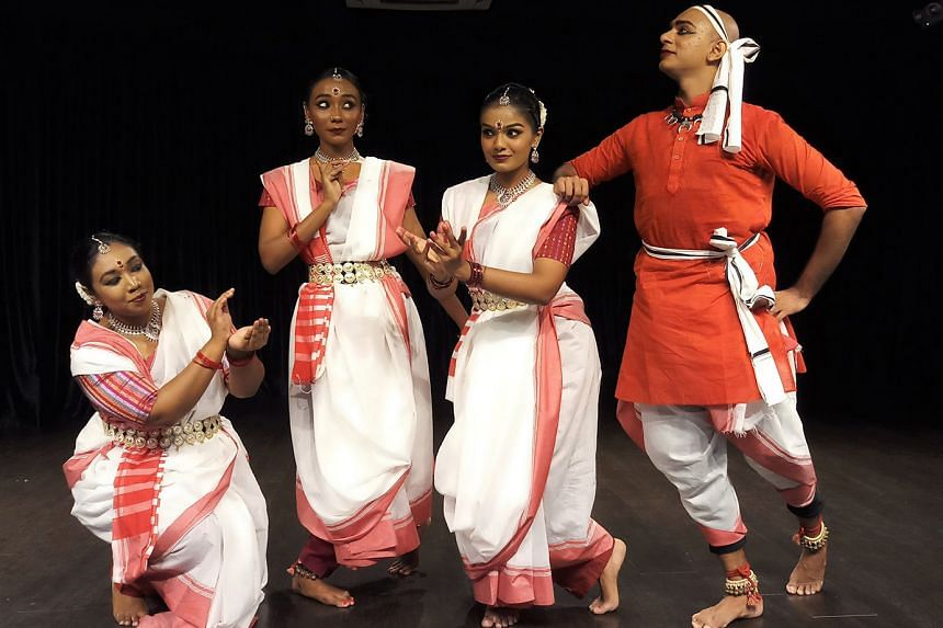 Bangladeshi migrant-worker poet Md Mukul Hossine has his poem Lockdown brought to life onstage as a classical bharatanatyam performance (above) in this video by Bhaskar's Arts Academy.