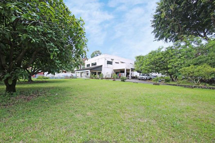 The 2,347.6 sq m site in Caldecott Hill Estate has a 50m dual frontage, with the option to rename the address to Joan Road, subject to approval.