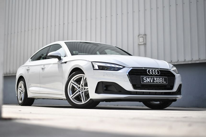 The Audi A5 Sportback comes with a touchscreen infotainment system that has new features, including a very useful 360-degree camera. The system can be paired with your phone.