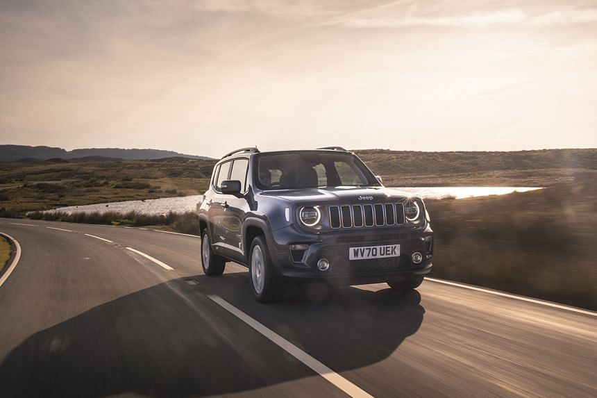 Renegade 4xe first electrified Jeep in right-hand drive
