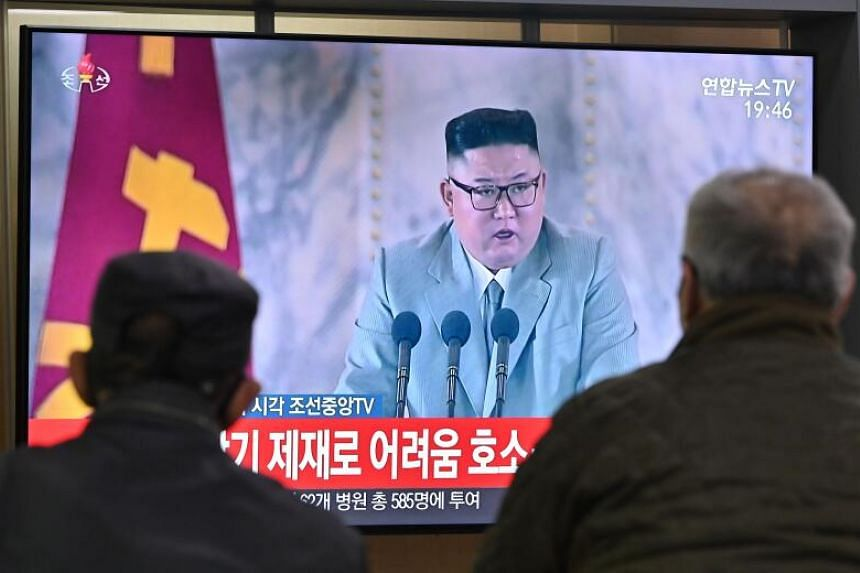 North Korea's leader Kim Jong Un said he was grateful that not a single North Korean had tested positive for Covid-19.