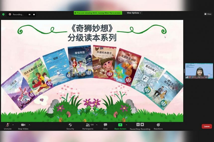 A collection of eight Chinese Graded Readers were launched on Oct 10.