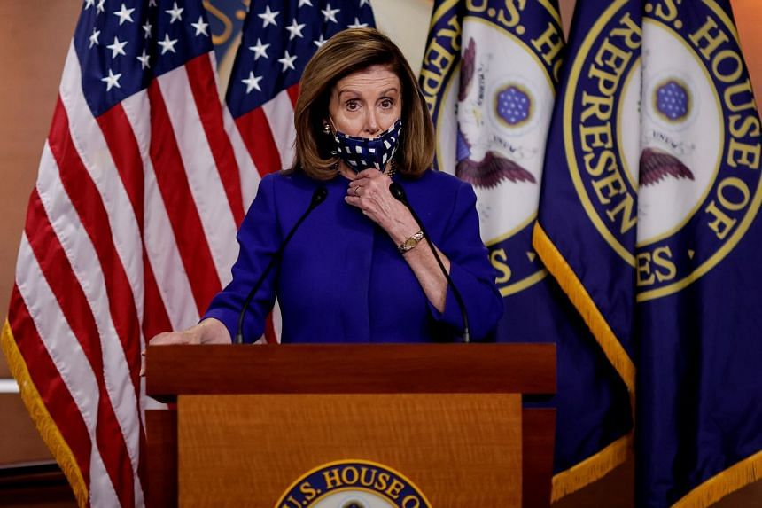 Pelosi (above) said the proposal would need changes to get support from congressional Democrats.