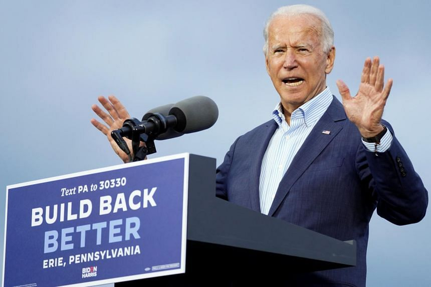 The former vice-president's comments came off as a warning about bad things happening at polling place.