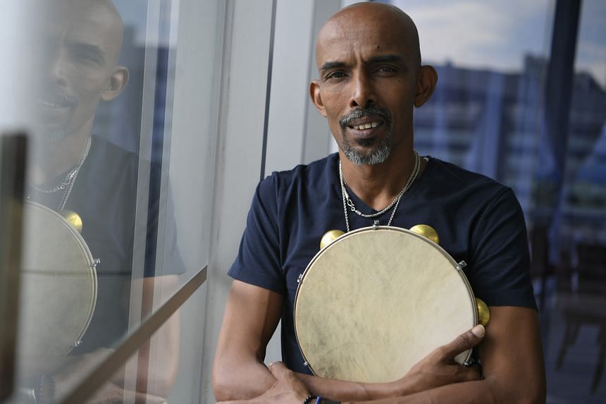 Percussionist Mohamed Noor used to teach at Lasalle College of the Arts but was later asked to leave as he did not have at least a diploma in music.