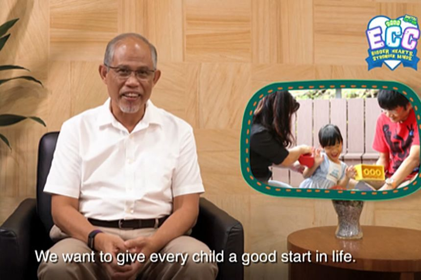 """Minister for Social and Family Development Masagos Zulkifli said during the virtual Early Childhood Conference yesterday that """"the priority is to help all teachers deepen their expertise and develop fulfilling careers in the sector""""."""