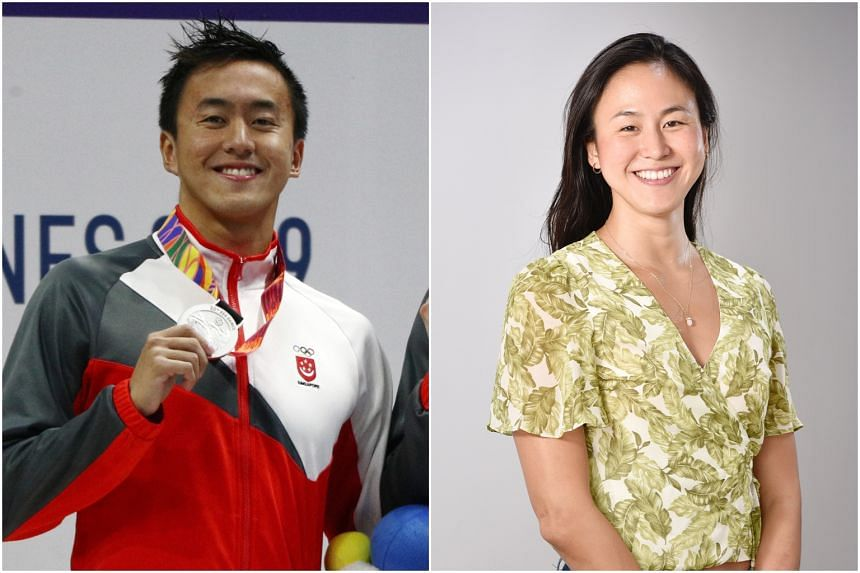 Siblings Quah Zheng Wen (left) and Quah Ting Wen are among the nominees for this year's Singapore Sports Awards.