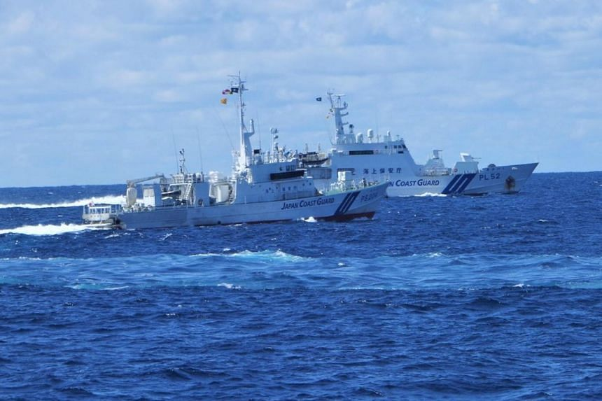 A Japan Coast Guard spokesman said this is the 21st day that Chinese boats have entered its waters since late August.