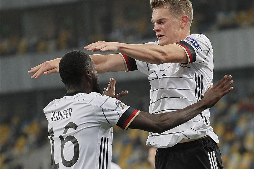 Nations League: Ukraine defeat Spain 1-0
