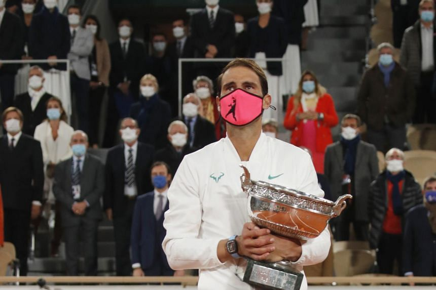 Rafael Nadal demolished Novak Djokovic 6-0, 6-2, 7-5 to add a 13th Roland Garros to his four US Opens, two Wimbledons and one Australian Open crown.