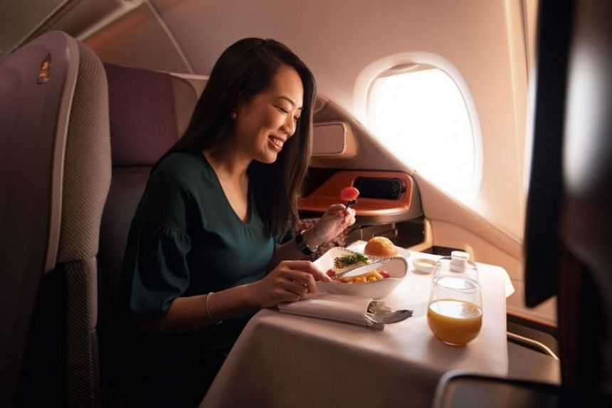 An SIA A-380 plane parked at Changi Airport will be converted into a restaurant on Oct 24 and 25.