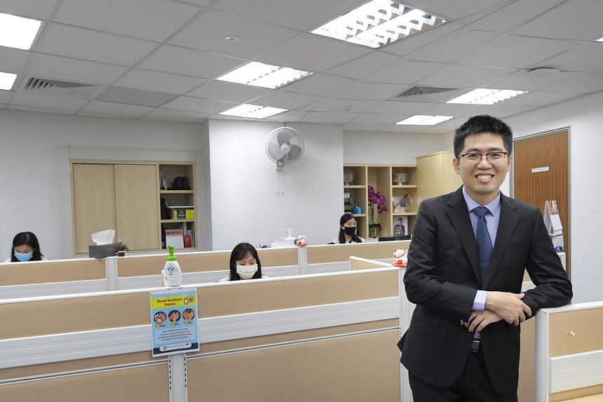 To keep employees connected, 3E Accounting founder Lawrence Chai is keeping the year-end dinner and dance function, but taking it online.