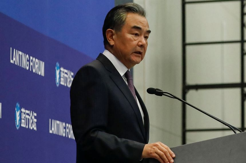 China's Foreign Minister Wang Yi said support for the 2015 nuclear deal would be a precondition of entry to the proposed forum.