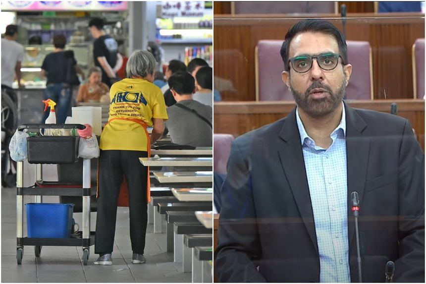 Workers' Party chief Pritam Singh called for a universal minimum wage starting at $1,300 per month for Singaporean workers.