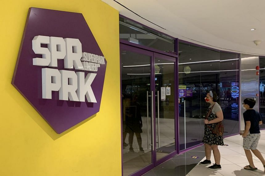 Spanning 40,000 sq ft across two levels, SuperPark Singapore is the local outpost of a popular Finnish indoor activity park.