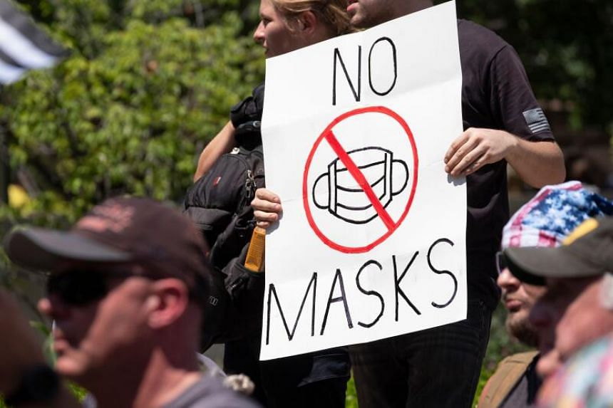In early September, it was reported that more Americans have started to not wear masks when going out.