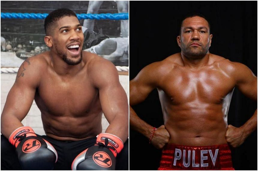 Kubrat Pulev (right) has been waiting for a chance to face Joshua Anthony for almost three years now.