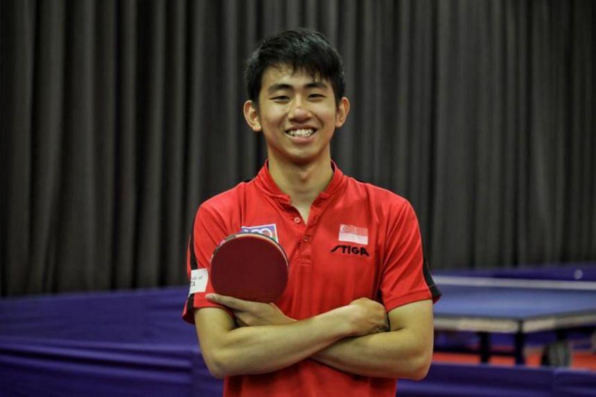 Among the winners this year is paddler Koen Pang.