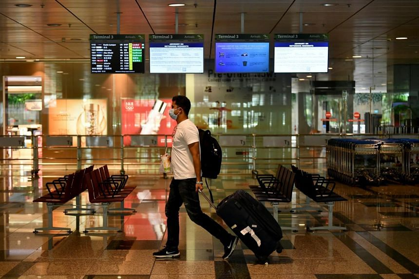 Singapore plans to negotiate air travel bubbles with safe countries or regions.
