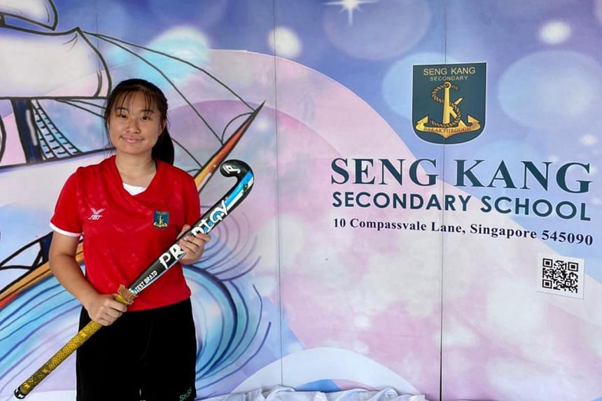 Tiffany Lim was named the Best Sportsgirl for hockey at the Singapore Sports Council Colours Awards on Oct 13, 2020.