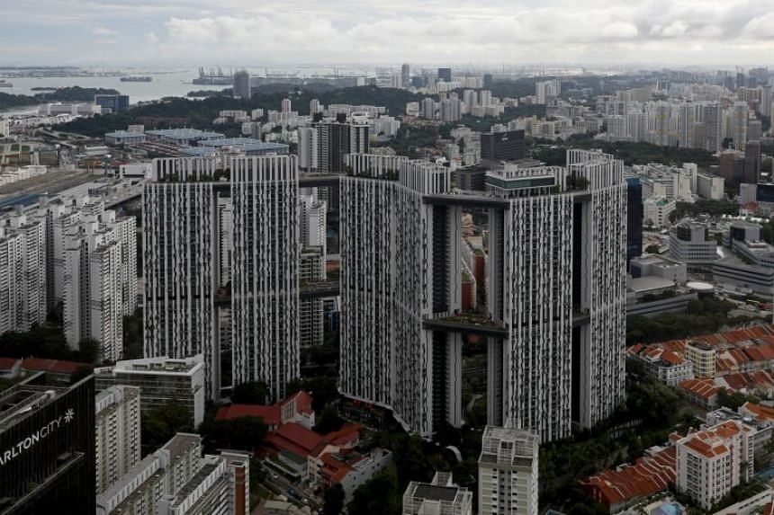 The highest transacted price for a resale flat last month was $1.26 million for a five-room unit at The Pinnacle@Duxton in Tanjong Pagar.