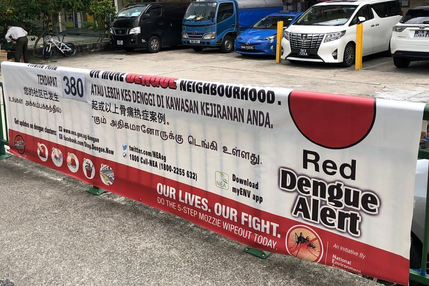 A quarter of the dengue deaths occurred over the past five weeks, since Sept 5.