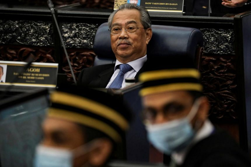 The revelation comes amid intense scrutiny over whether Malaysian PM Muhyiddin Yassin still commands majority support in the 222-strong lower house of Parliament.