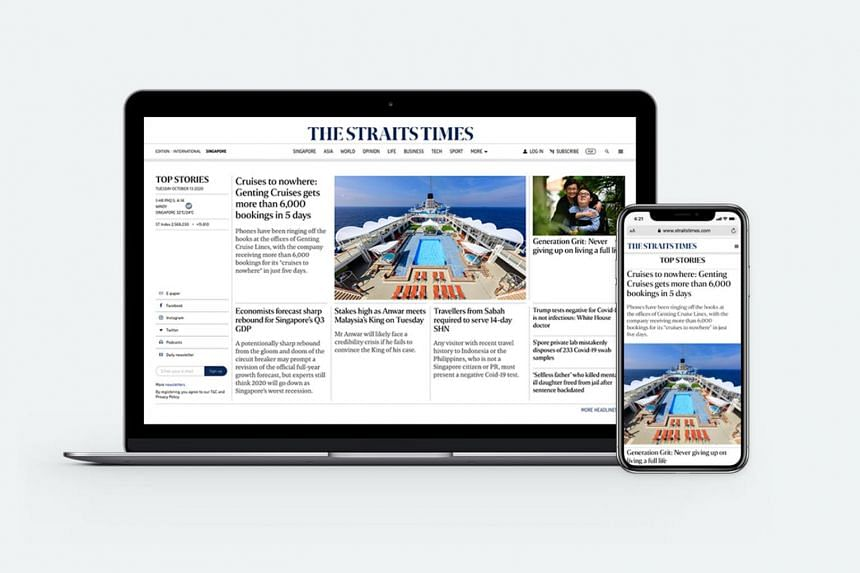 This revamp is part of ST's continuing efforts to refresh its digital and print products, and includes an upcoming relaunch of its mobile app.