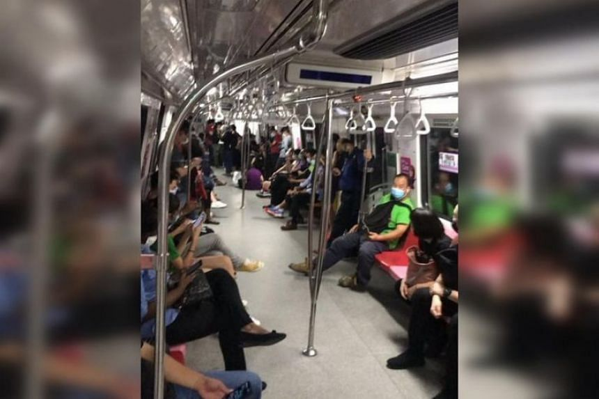 Mr Ryan Koh was on a train heading home from Clementi to Yew Tee when the disruption occurred, leaving him stuck on the train for three hours, on Oct 14, 2020.