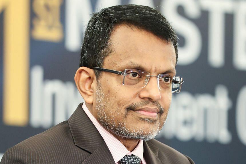 MR RAVI MENON, managing director of the Monetary Authority of Singapore.