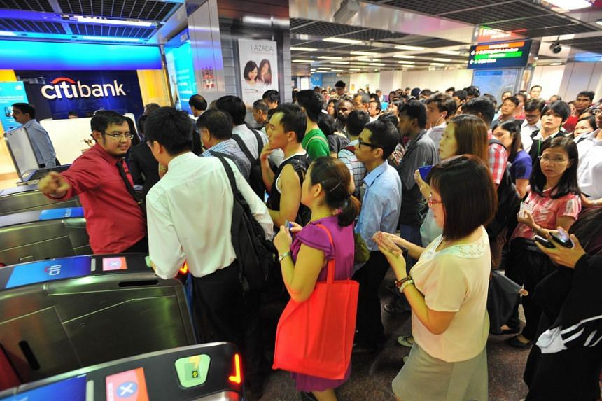 The entire North-South Line ceased to operate just after 5pm due to a fault on a newly-installed signalling system on June 28, 2017.
