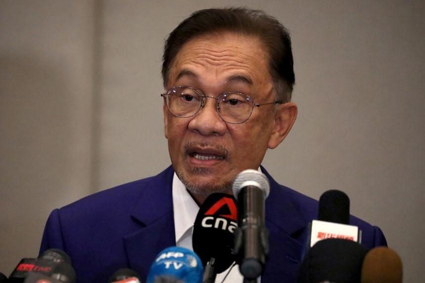 Mr Anwar Ibrahim had met Malaysia's King on Oct 13.