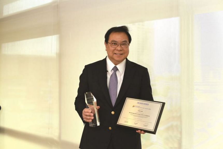 OCBC CEO Samuel Tsien won the Leadership Achievement Award for best Covid-19 response in Singapore.