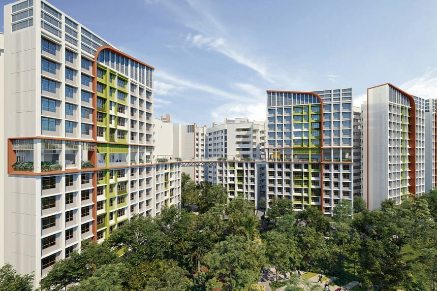 An upcoming housing development that will showcase the features and initiatives under the new HDB roadmap is Parc Residences @ Tengah.