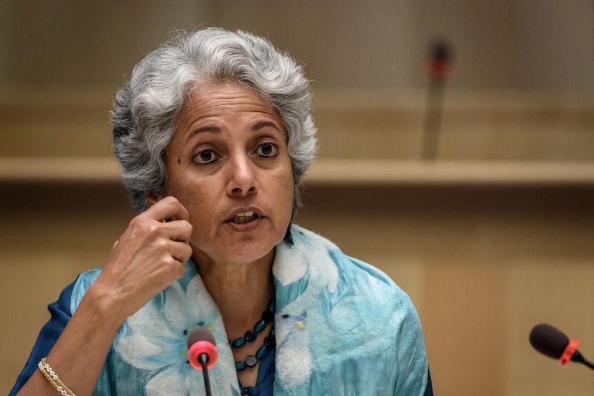 WHO chief scientist Soumya Swaminathan reiterated that speedy, mass shots were unlikely.